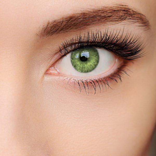 farbige Kontaktlinse Intense smaragd