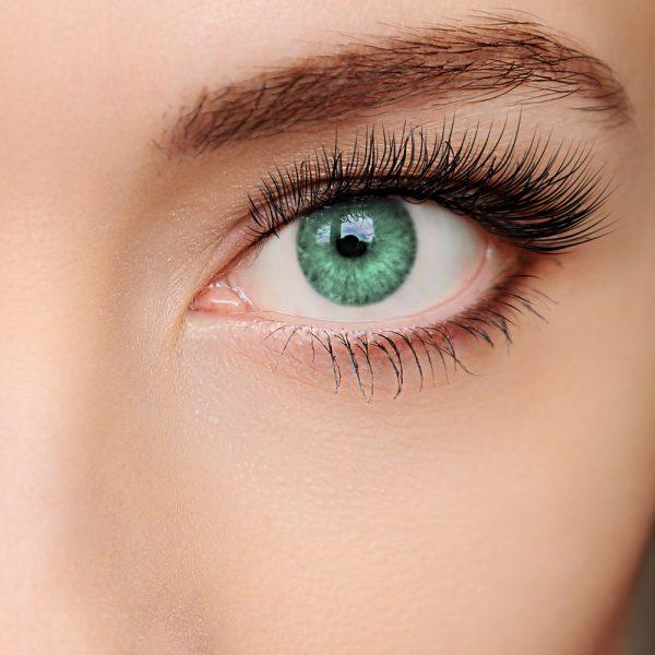 farbige Kontaktlinse Intense verde