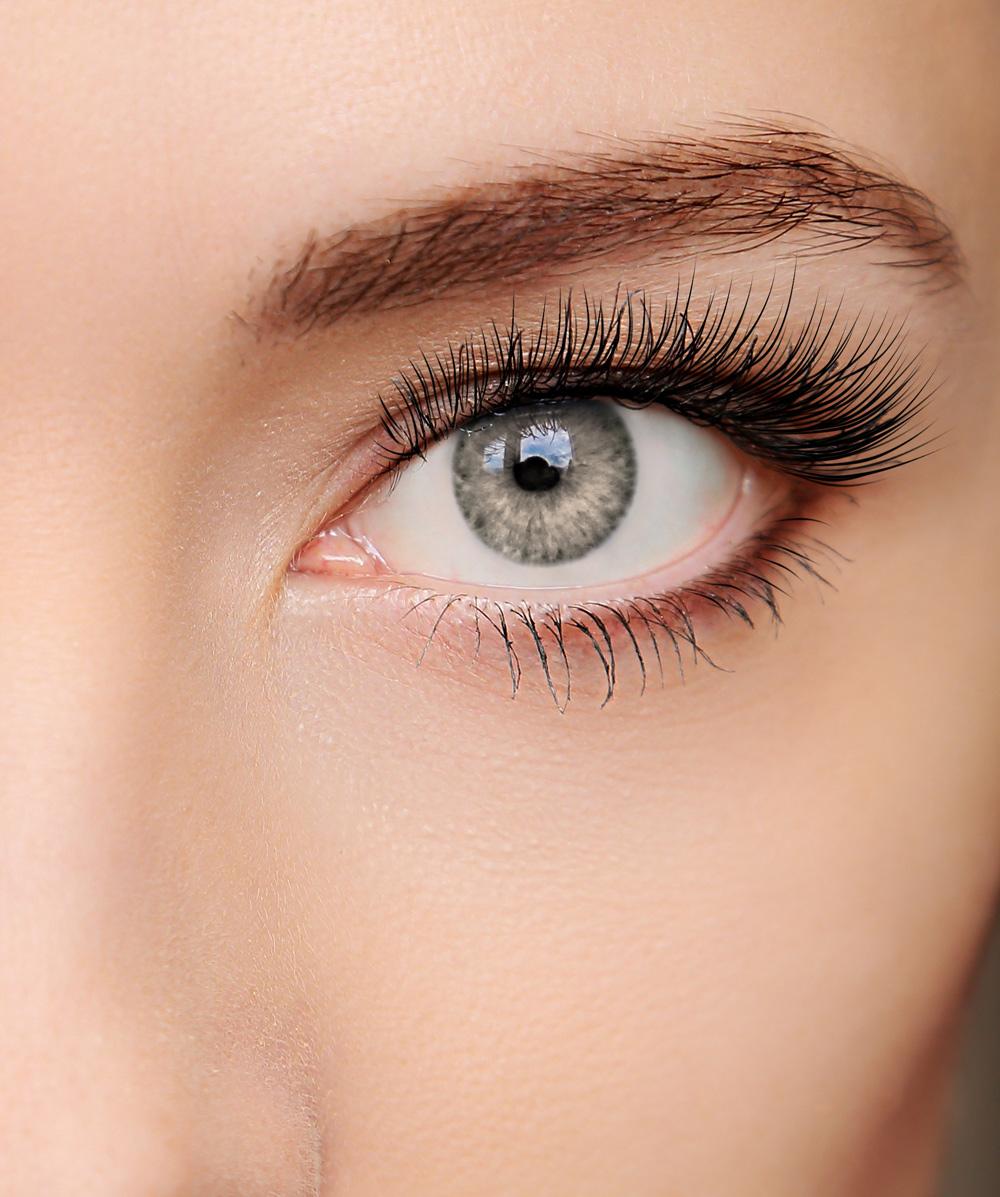 farbige Kontaktlinse Intense okker