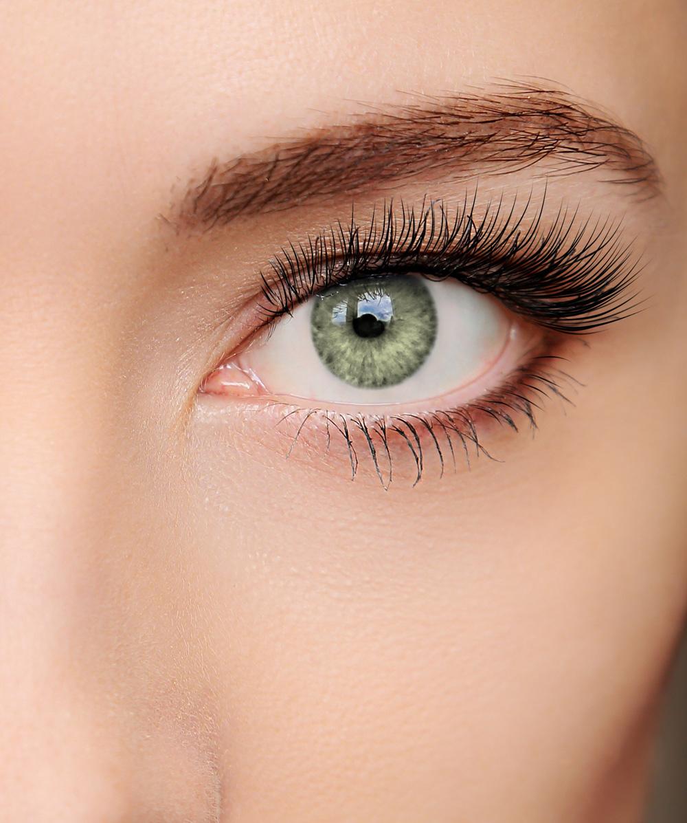 farbige Kontaktlinse Intense bernstein