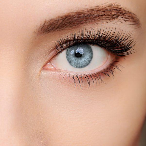farbige Kontaktlinse Intense graphit