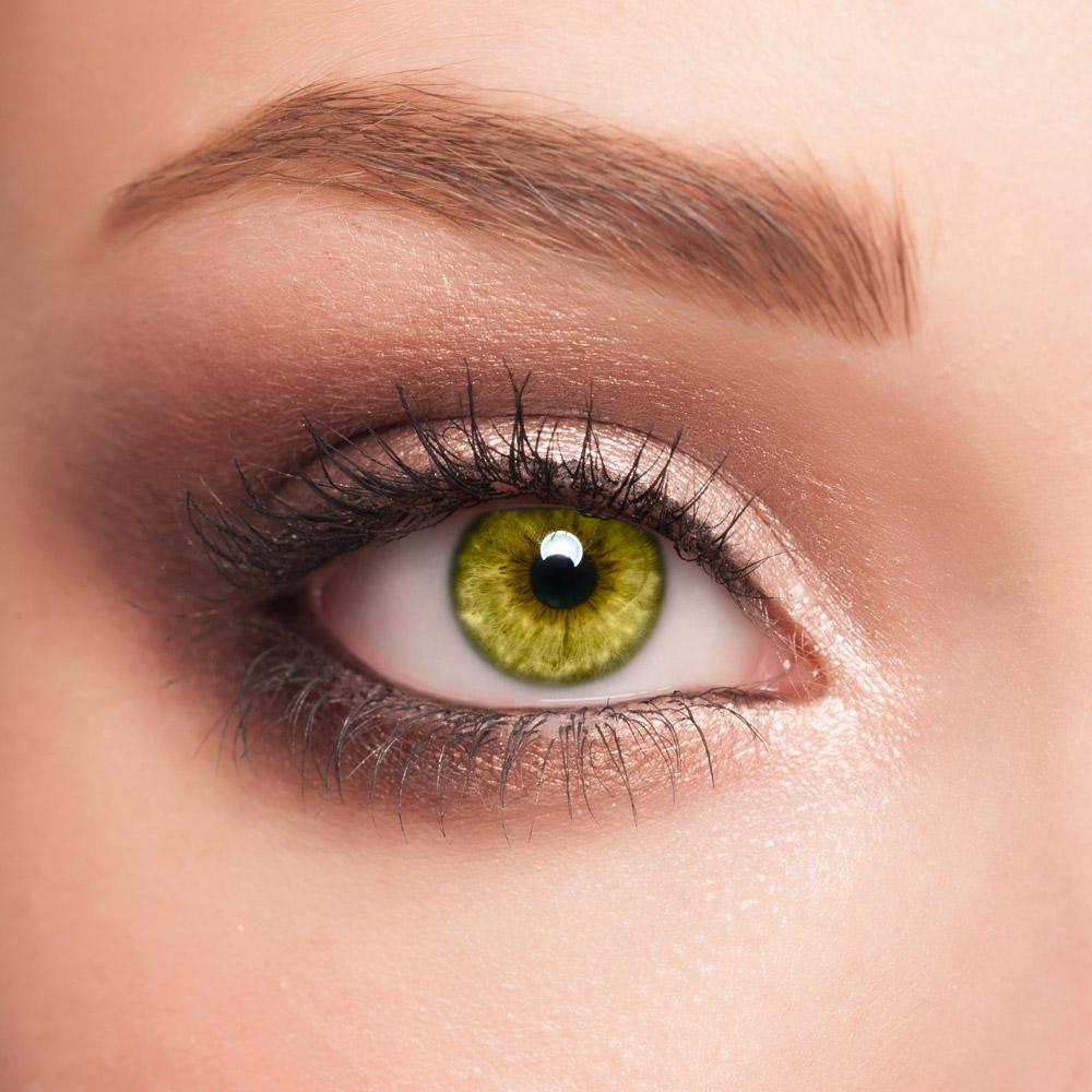 farbige Kontaktlinsen supreme brown